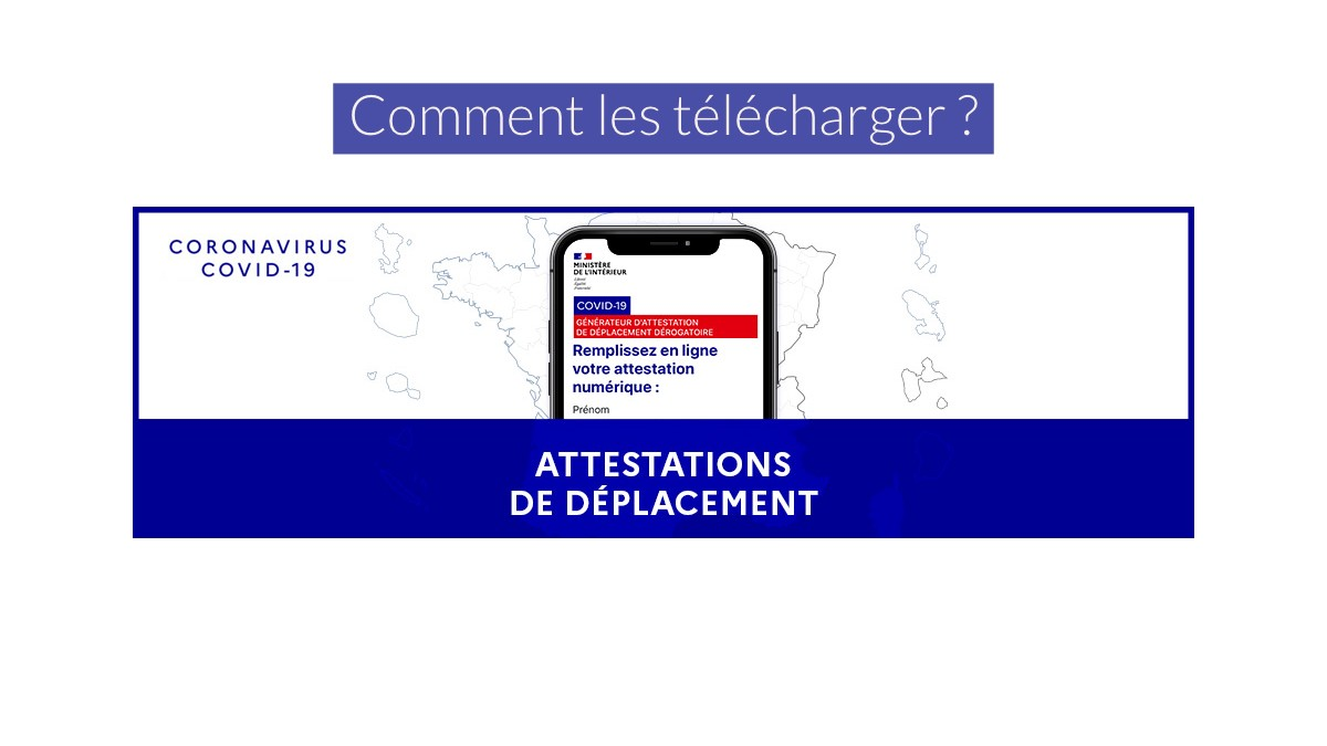 Reconfinement : Le retour des attestations !